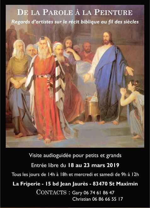 Exposition Parole Peinture